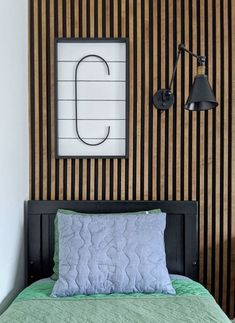 These budget friendly DIY Accent Wall Ideas are just the thing to turn your home into the beautiful space you've always imagined. Striped Accent Walls, Green Accent Walls, Wood Accent Walls, Chevron Walls, Accent Colors, Mur Diy, Faux Headboard, Chalkboard Wall Bedroom, Wood Slat Wall
