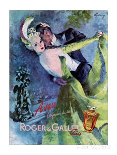 Gallet Perfume Prints by Cydney Roger at AllPosters.com