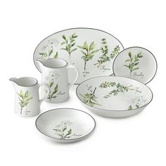 Healthy Herb Dinnerware Collection | Williams-Sonoma