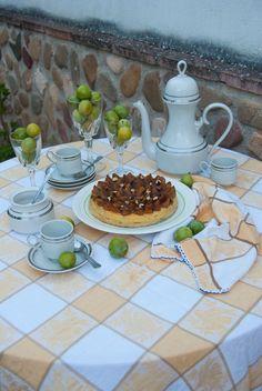 La asaltante de dulces: Receta de tarta de ciruelas y nueces/ Plum & walnut cake recipe