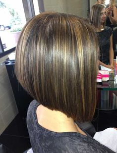Inverted Bob Hairstyle