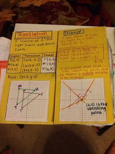 Journal Wizard: Geometry Unit 2 Coordinate Geometry Pg 12 to Pg 18