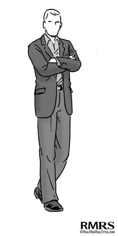 """Man wearing Casual or dress casual.  There are a number of variations on this phrase, all of which mean basically the same thing. For men, jackets are still preferred, but not required, and not as part of a matched suit.  The most conventional dress casual outfit for a man is a navy blue blazer with light to medium gray slacks or khakis. (This is such a common dressed-down alternative to full business attire that it's sometimes called """"the California suit."""")"""