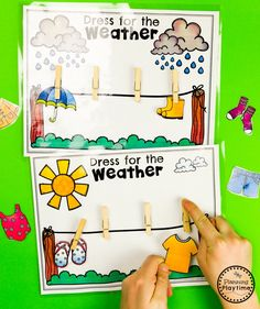 Weather Activities - Planning Playtime