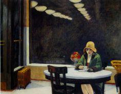 Se vi piace Hopper, il famoso pittore americano, non potete perdere l'incontro che si terrà al Cineclub Alphaville martedì 4 febbraio.