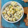 Another great egg salad -- this one with lemon, dill, capers and red onion