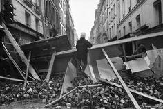 Barricades, Paris, mai 1968 - Marc Riboud