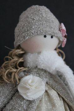 Boneca de pano Nina - série Gente pequena