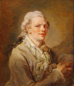 Page: Self-portrait  Artist: Jean-Honore Fragonard  Style: Rococo  Genre: self-portrait