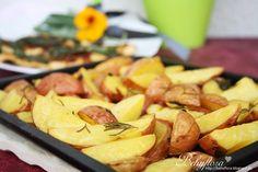 baked rosmary potatoes
