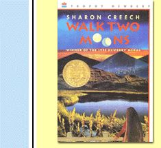 Walk Two Moons by Sharon Creech is a wonderful book.  It was assigned to my 6th grader but it speaks to grown ups too.  I sobbed my eyes out.  That seems to be a common theme in my favorite books.  I give them to my husband to read and then I stalk him so I can see him cry too.