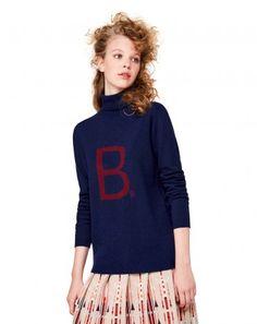 #Benetton #StellaJeanForBenetton #FW16 #collection #trend #fashion #woman #knitwear #blue #beige