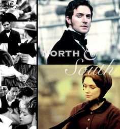 """North and South John Thornton & Margaret Hale """"North And South"""" November & December of 2004 (British Television Drama Serial)"""