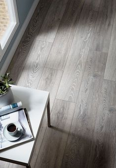 grey flooring Henley Engineered Grey Oak **Prime** Matt Lacquered Click Lok x Wood Flooring Grey Laminate Flooring, Grey Wood Floors, Hallway Flooring, Engineered Wood Floors, Living Room Flooring, Bedroom Flooring, Grey Floorboards, Grey Vinyl Plank Flooring, Bedroom Wood Floor