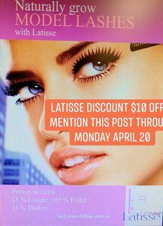 Latisse on sale. Longer Eyelashes, Celebrations