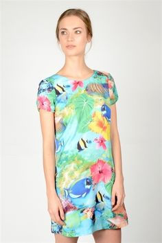 Fina Dress  http://relatedapparel.com/Fina-Dress.aspx  #relatedapparel #myrelated #dress #summer #print #fashion #related