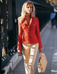 I don't care for the color, but the cut & style of this jacket are really sharp - DLGH