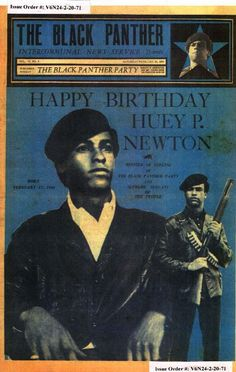 The Black Panther (February 20, 1971) Happy Birthday, Huey P. Newton