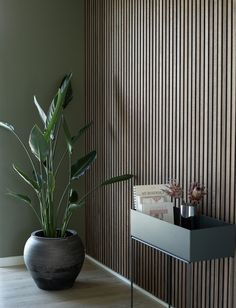 At WoodUpp, you can find the finest wooden panels for your wall that gives an authentic look to your home interior. Wood Slat Wall, Wood Panel Walls, Wooden Slats, Wood Paneling, Modern Wall Paneling, Wooden Wall Panels, Scandinavian Living, Scandinavian Interior, Acoustic Panels