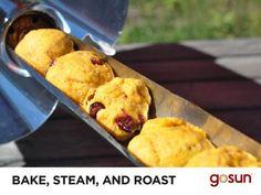 b2b8edfa031 Solar Bake Oven Cooker Pumpkin Cranberry Scones Recipe