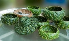hawaiian weave boxes | From the Windward Shore: Weaving Baskets from Coconut Palm Fronds