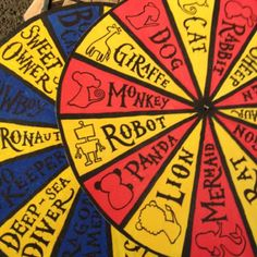 Story wheels! #popup2012
