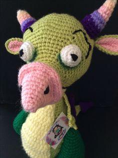 #draco #babytv #amigurumi #crochet #dragon https://m.facebook.com/wayakyart/