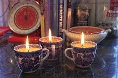 How to make your own candles! These instructions are pretty straight forward. :) Gotta try!