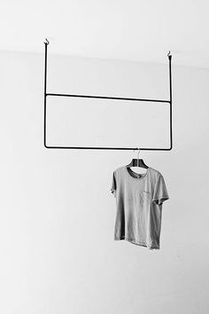 Clothing Rails is a minimalist design created by Sweden-based designer Annaleena Leino. Leino is a freelance interior stylist with experience in prop styling, set design, and interior design. Interior Stylist, Interior Design, Interior Shop, Modern Interior, Interior Inspiration, Design Inspiration, Furniture Inspiration, Mini Loft, Deco Design
