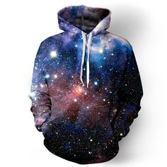 Escape to somewhere crazy and keep warm while you do in our Lush Galaxy Hoodie. We make this hoodie out of 100 percent polyester because this fiber is fade and bleed resistant. Your Lush Galaxy Hoodie Hoodie Outfit Casual, Outfits Casual, Rave Outfits, Cool Outfits, Galaxy Hoodie, Galaxy Shirts, Hoodie Sweatshirts, Visual Kei, Lush