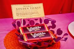 Willy Wonka Birthday