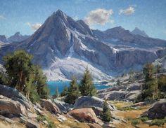 "Matt Smith Paintings | Hungry Packer Lake Oil, 22"" x 28"" Price: $9,000"
