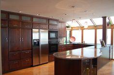 kitchen; windows