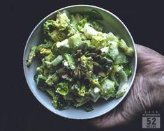 Fenkolisalaatti avokadolla ja fetalla