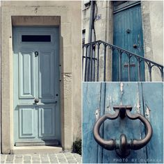 Majority of my pictures were doors.  France, La Rochelle, doors, blue,