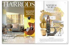 Ginger & Jagger | Harrods |  Highlights: Leaf Mirror http://www.gingerandjagger.com/EN/collection/earth-to-earth/ #design #magazine #interiors #gingerandjagger #craftsmanship #nature #home #mirror #organic #harrods