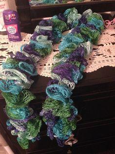 Sashay scarf on Etsy, $15.00