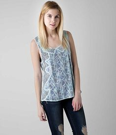 Gimmicks by BKE Printed Tank Top - Women's Shirts | Buckle