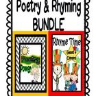 Poetry Power: Poetry Centers, Poetry Activities & Poetry Templates AND Rhyming Activities, Games & Centers (Word Families Too!) are now BUN...