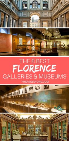 There's an overwhelming amount of beautiful galleries and museums in Florence, Italy. Which should you visit? In this article, we list 8 of the city's best.   Best of Europe   Travel tips of Europe   Europe on Budget   Best of Florence   Visiting Florence   Backpacking Europe   Top activities In Florence   Activities in Florence  