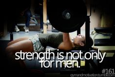 Put down those tiny pink hand weights and lift heavy girls!