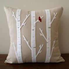 aspen  pillow, I think I'll have a different plant sp. on every pillow in my house