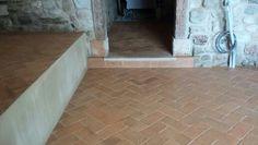 Trattamento pavimento in cotto Fornace Bernasconi con cere liquide