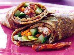 Dinkelwraps med kyckling och grönsaker