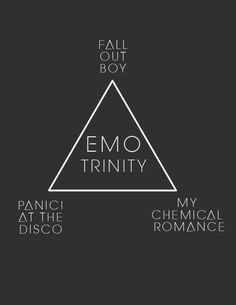 """""""Knock once for the Father [FOB], twice for the Son [P!ATD], three times for the Holy Ghost [MCR]."""" - West Coast Smoker, Fall Out Boy"""