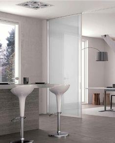 pareti divisorie scorrevoli per abitazioni - Cerca con Google Italian Style, Kitchen Design, Doors, Tableware, Wardrobes, Google, Home Decor, Houses, Glass