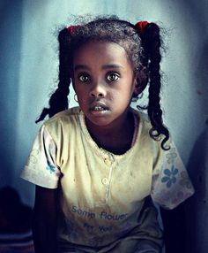 Pretty Nubian girl from Southern Egypt.