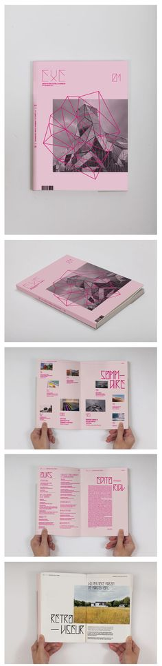 EXE Magazine on Behance  I've always admired this kind of graphics, but I don't feel like it's me. It could be you though
