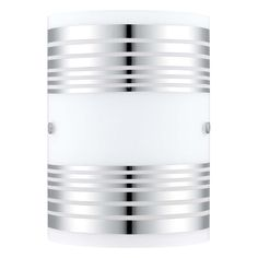 Eglo Bayman - 1 x 60W Wall Light with Finish and Decor Glass