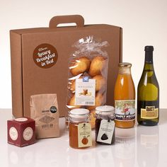 The Luxury Breakfast In Bed Gift Hamper http://www.notonthehighstreet.com/whiskhampers/product/the-luxury-breakfast-in-bed-gift-hamper